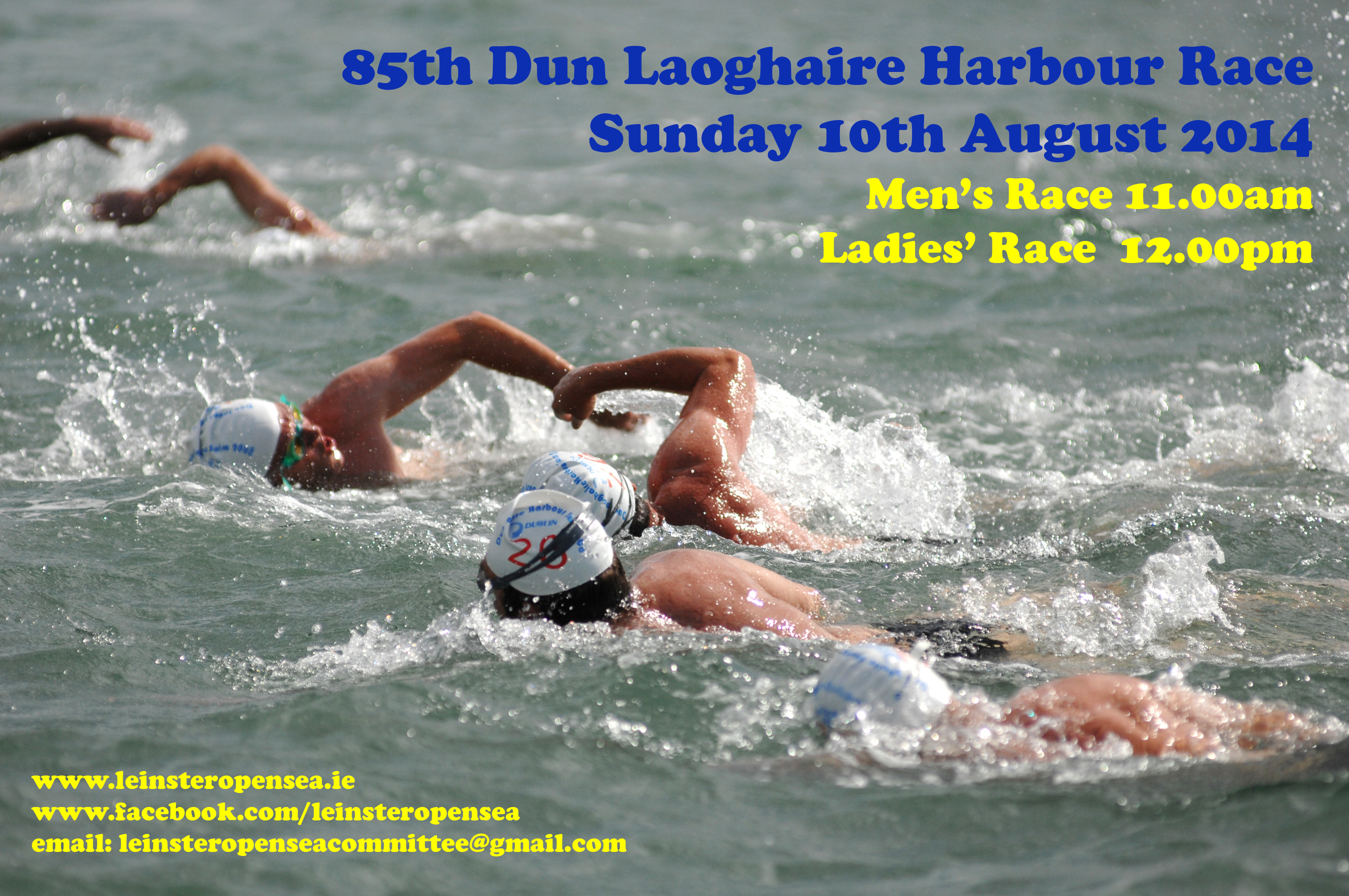 85th Dun Laoghaire Harbour Race   Sunday 10th August/open water club news